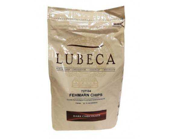 Czekolada Deser. 60% Kuwertura LUBECA op 2,5 kg
