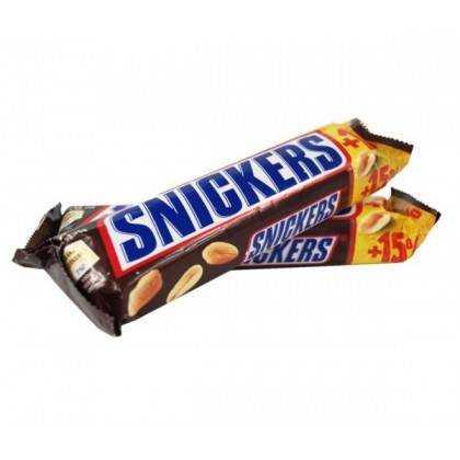 Baton Snickers 75 g, 24 szt./op